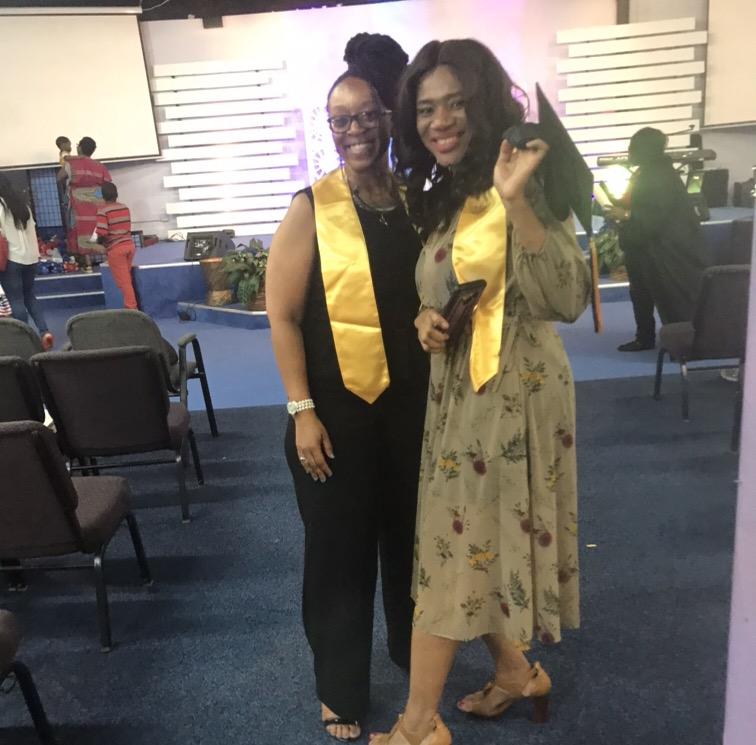 Congratulations!! Jeada, & Kharita I'm