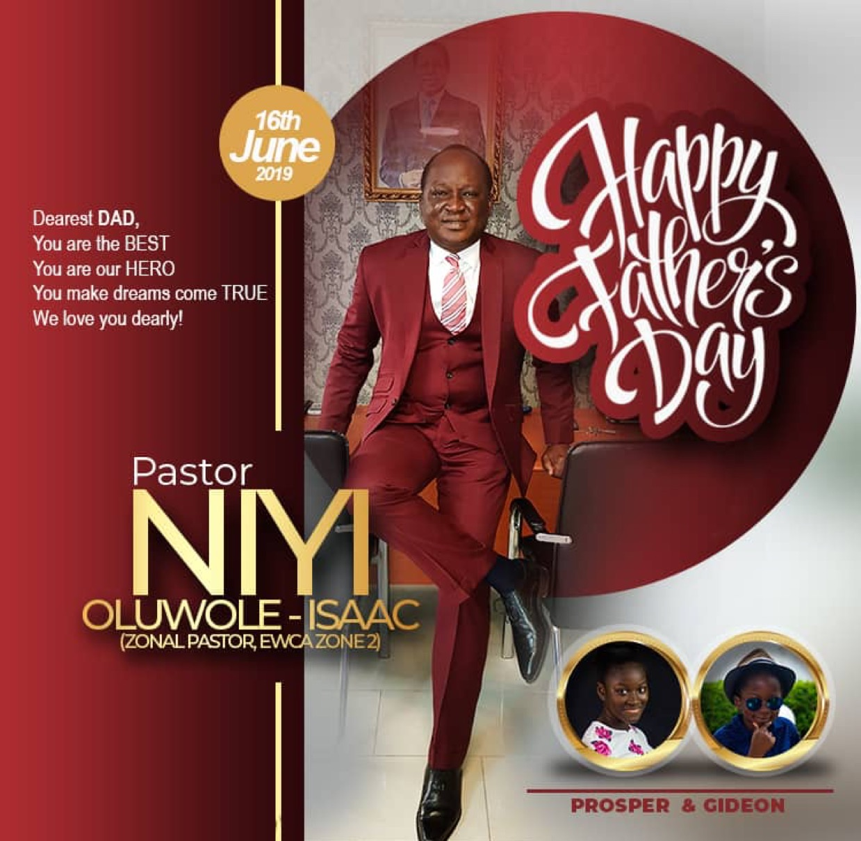 Happy Fathers Day Daddy From