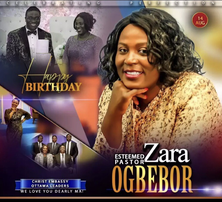 Happy Birthday Esteemed Pastor Zara.