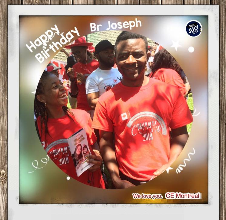 Happy Birthday Br Joseph. Many