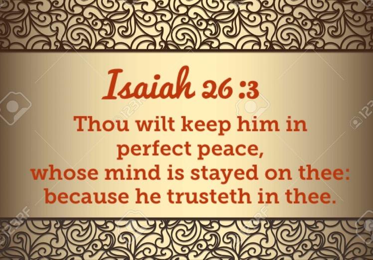 As I meditate on scriptures