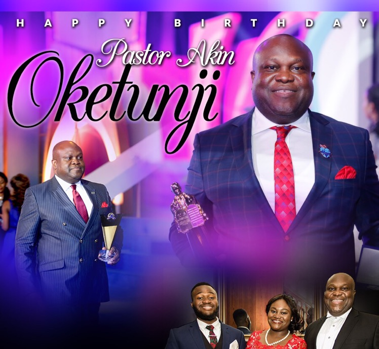 Happy Birthday Esteemed Pastor Oket,
