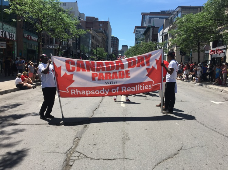 #CEMontreal brethren dancing & marching