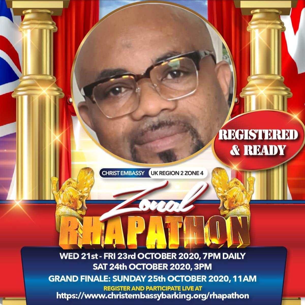 ⭐️UKR2Z4 RHAPATHON 21st-25th of October