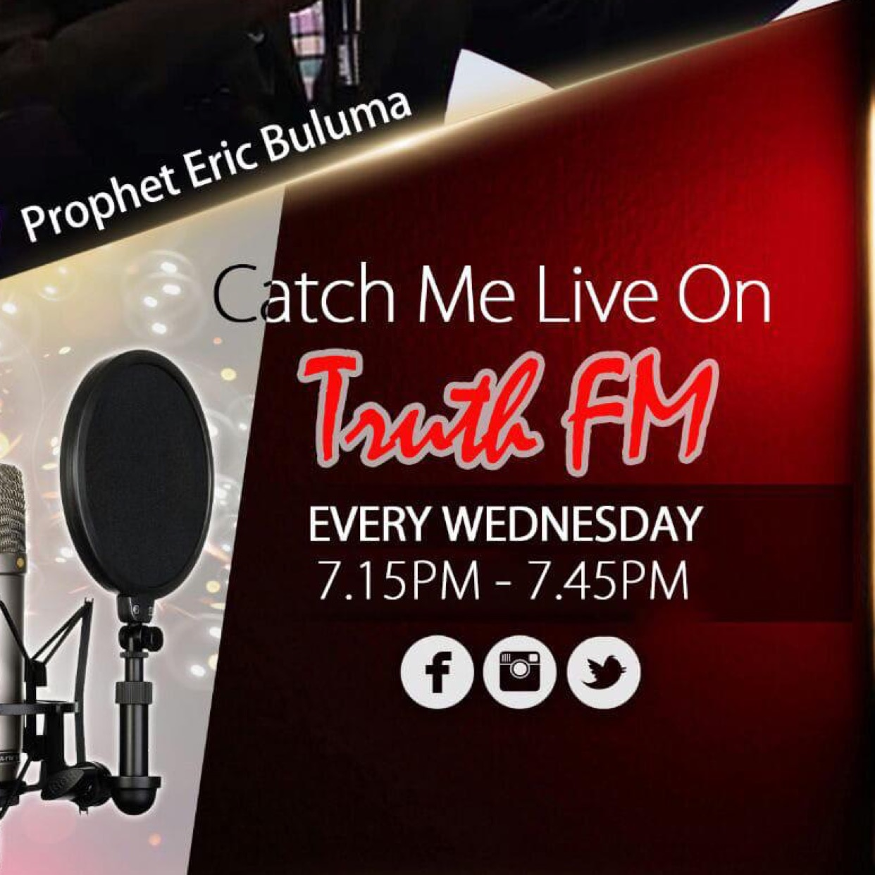 *Join me Today Live on
