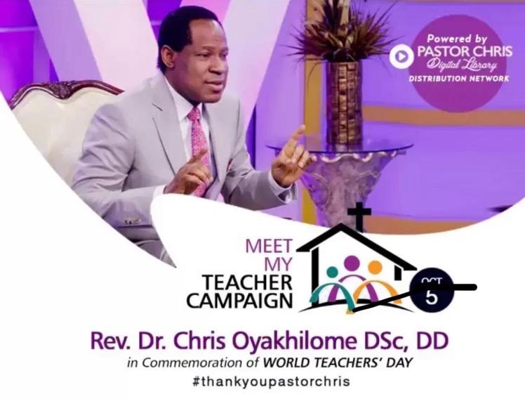 Pastor Chris, l love you