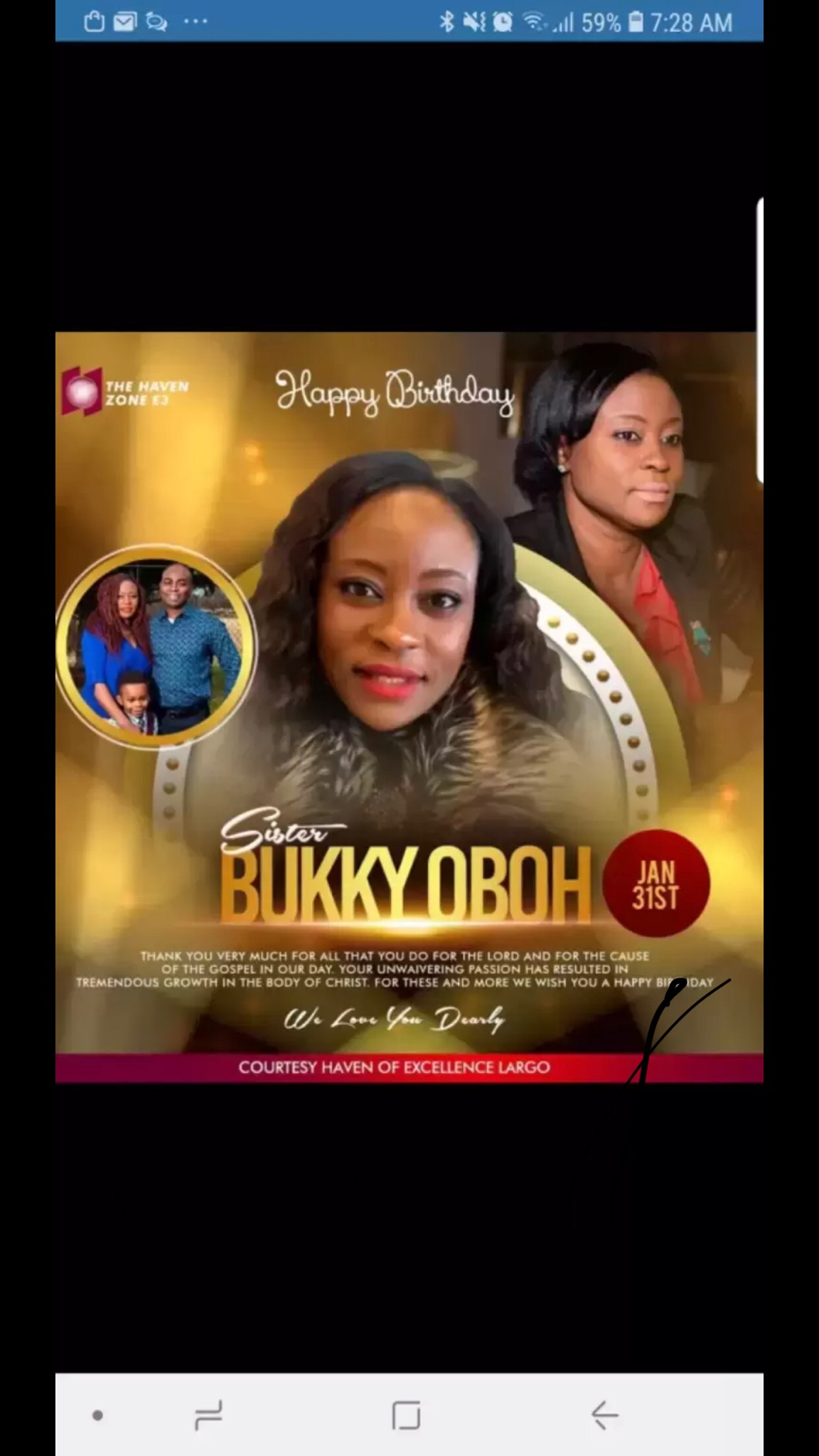Happy birthday, Sis Buki! Your