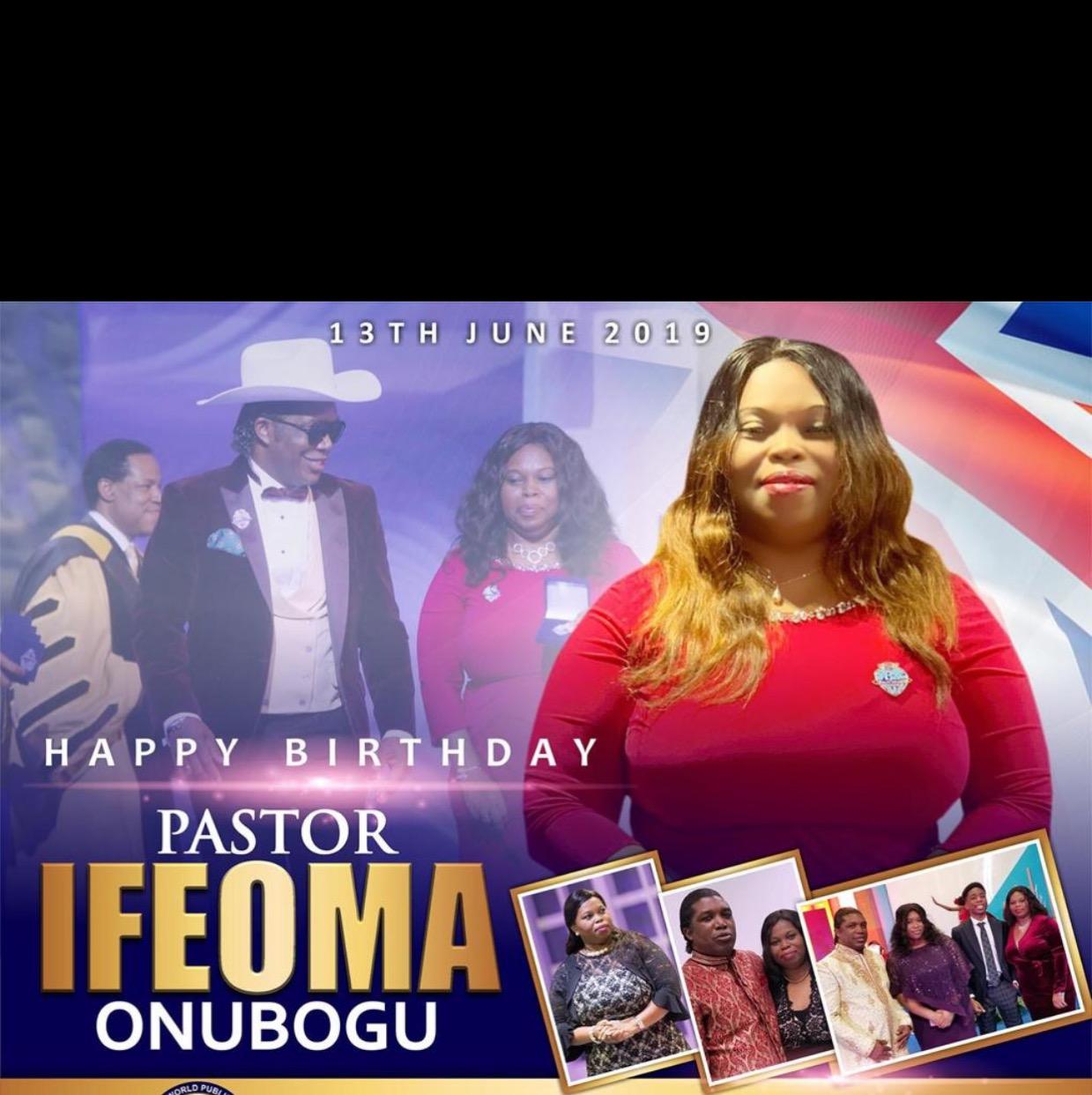 Happy Birthday Our Beloved Pastor
