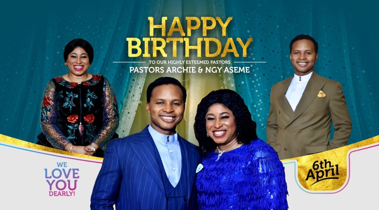 Happy Super Birthday to Pastor