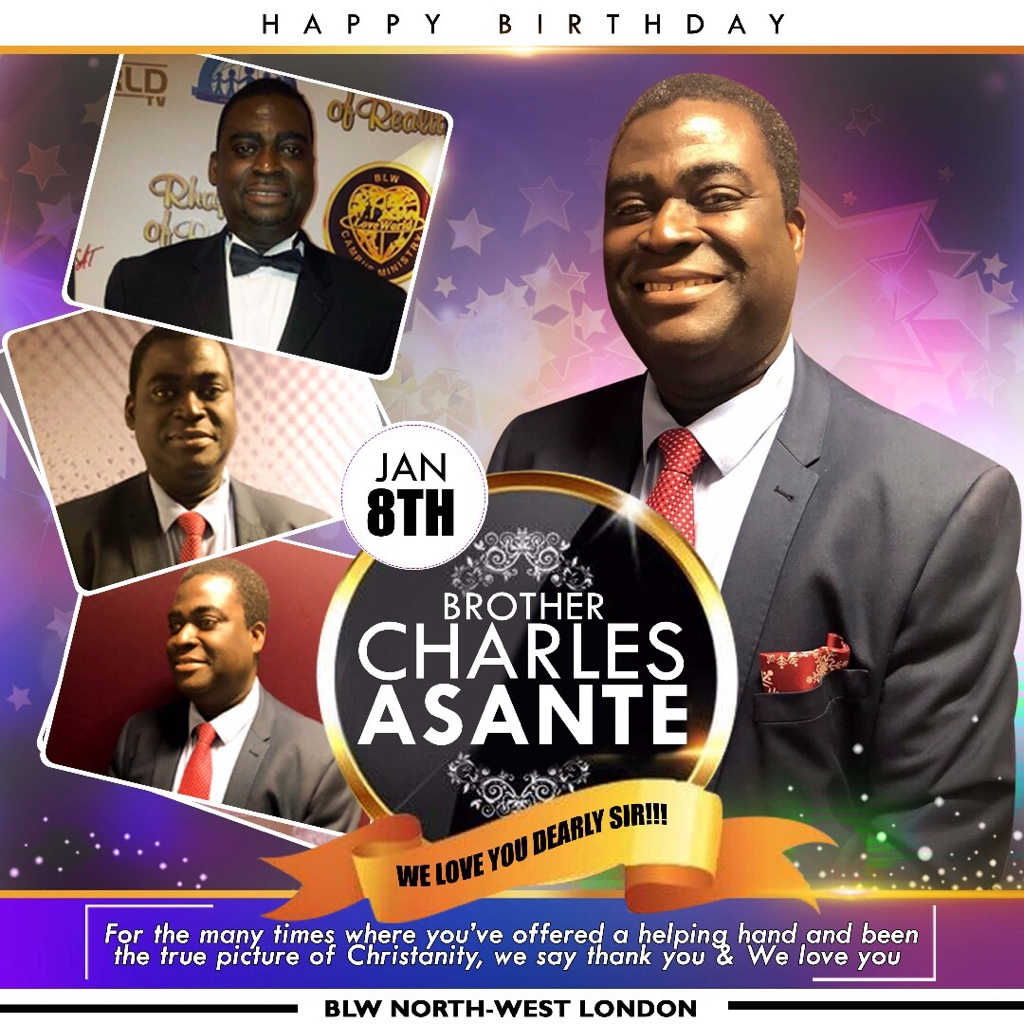 Happy Birthday Dear Brother Charles!