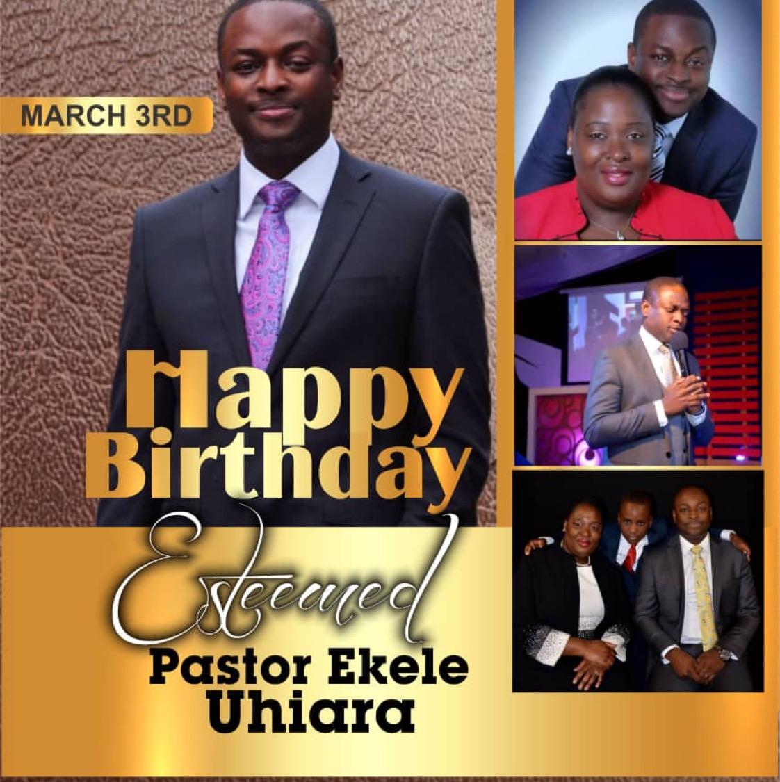 #PEU33 #PastorEkele #HavenzoneA3 Happy Birthday