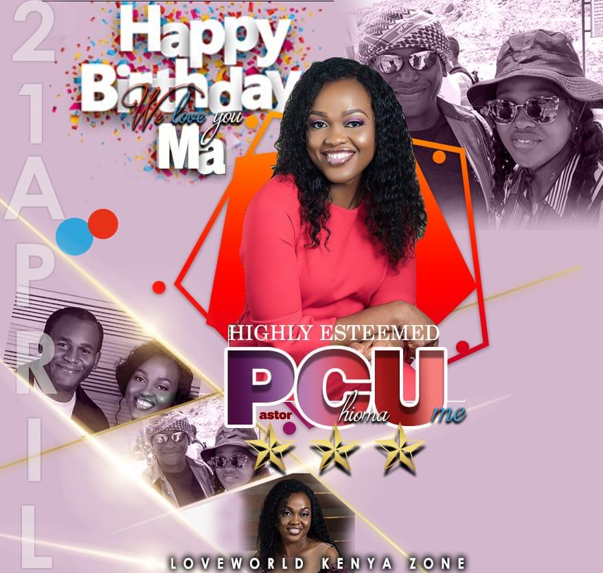 Happy birthday Pastor ma! It's