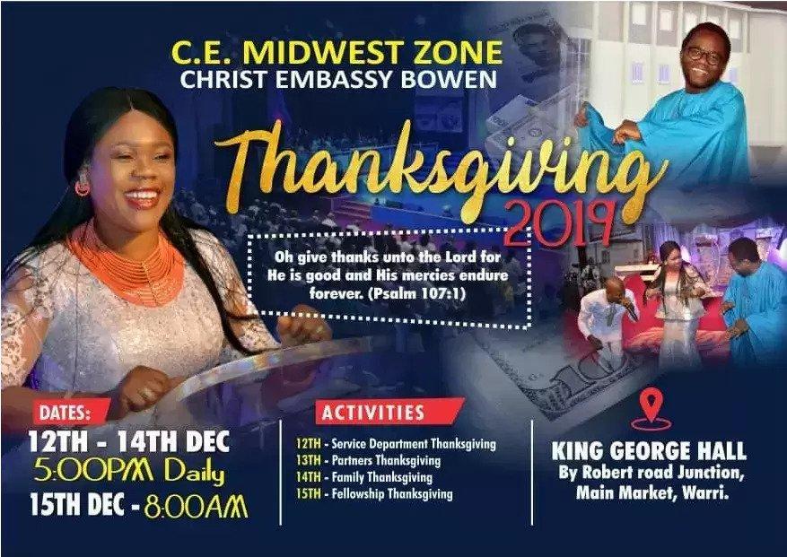 Its Thanksgiving Season & we