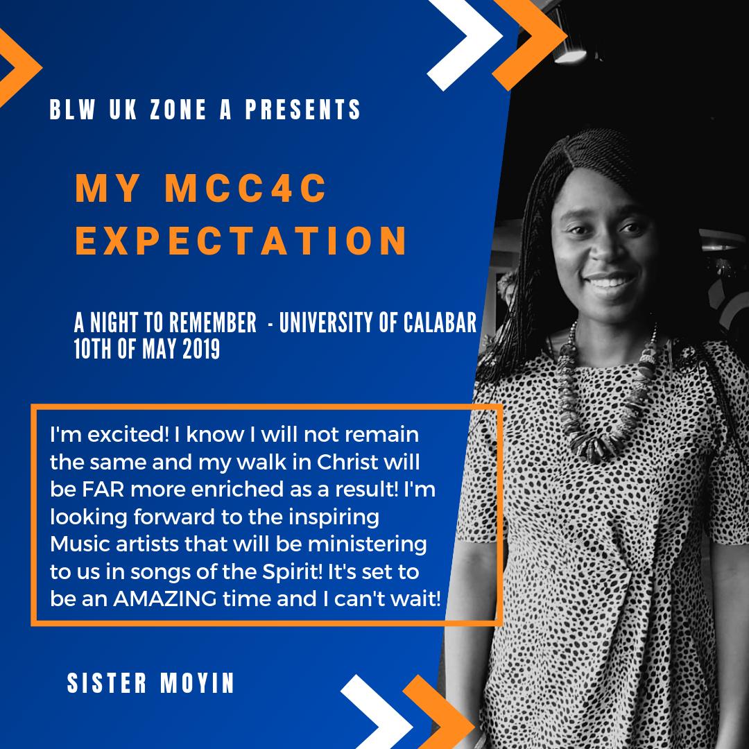 God in me working #MCC4C