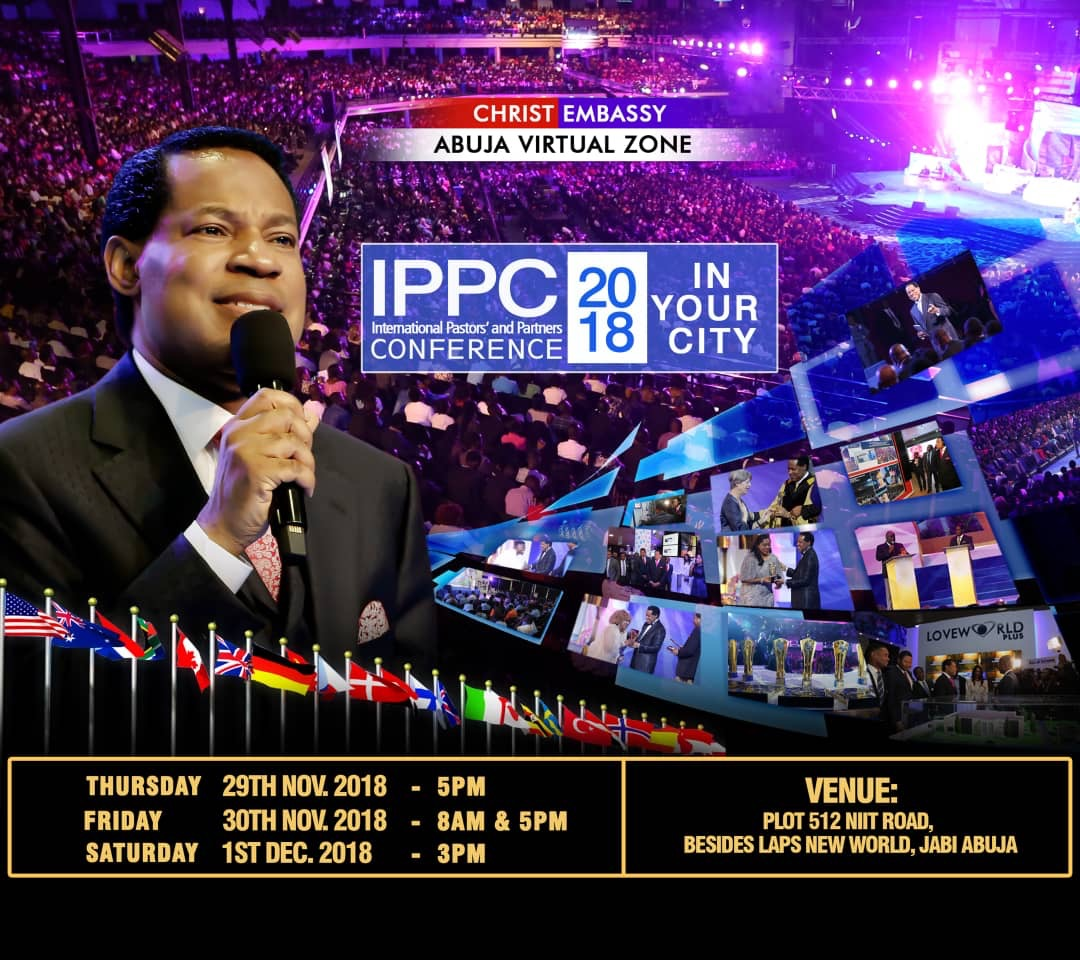 IPPC IN YOUR CITY STARTING