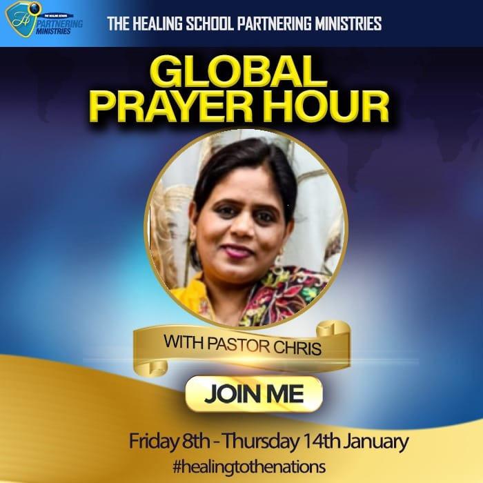 HAPPENING NOW! 🔊🔊🔊 Global Prayer