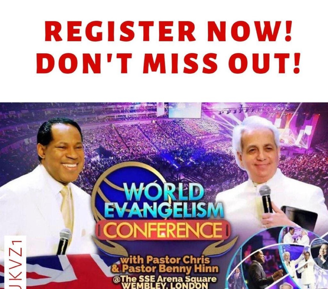 #WECUKwithPastorChris: Taking Evangelism⚡⚡⚡to a wh