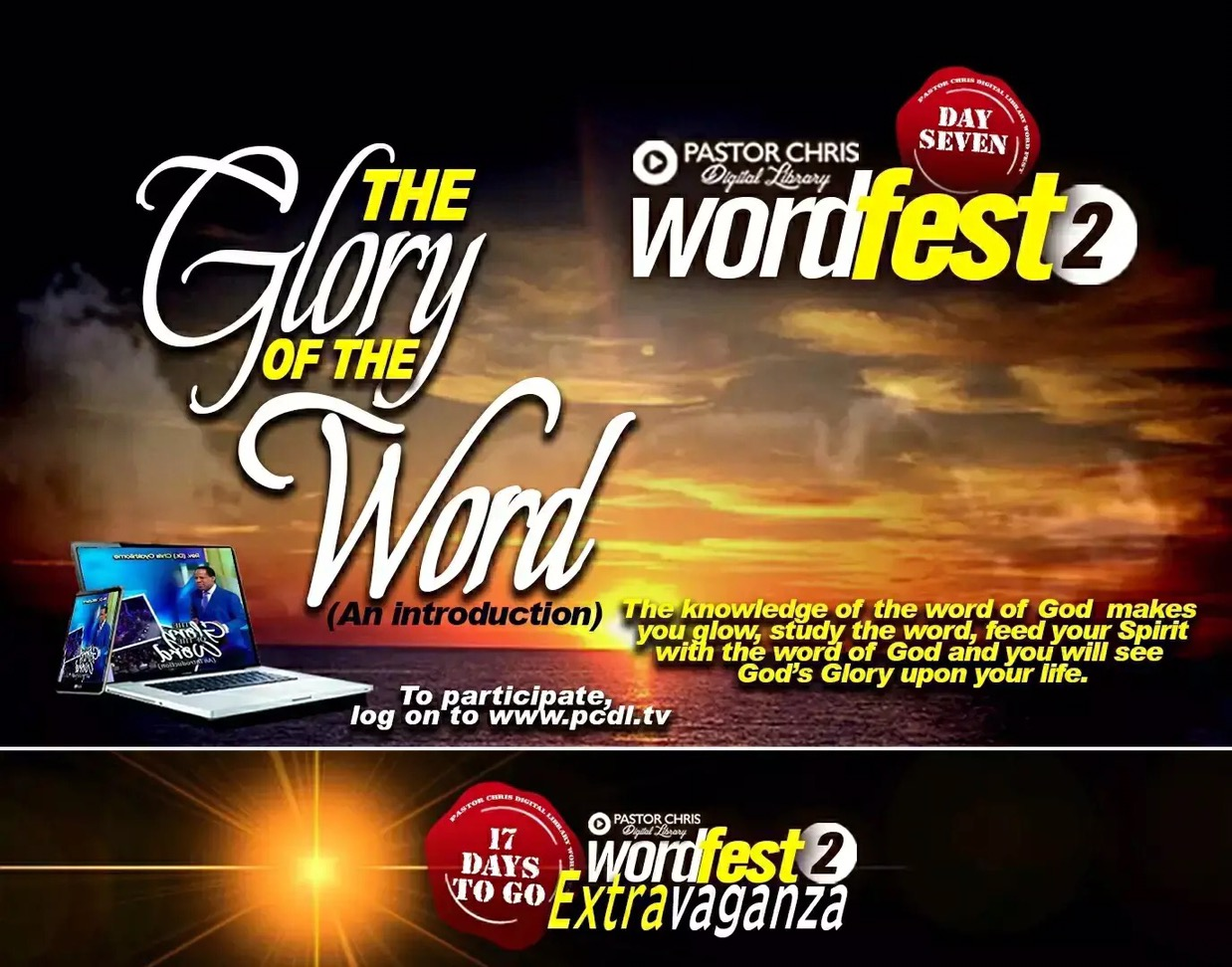 Glorrryyy!!! It is WORDFEST 2.0