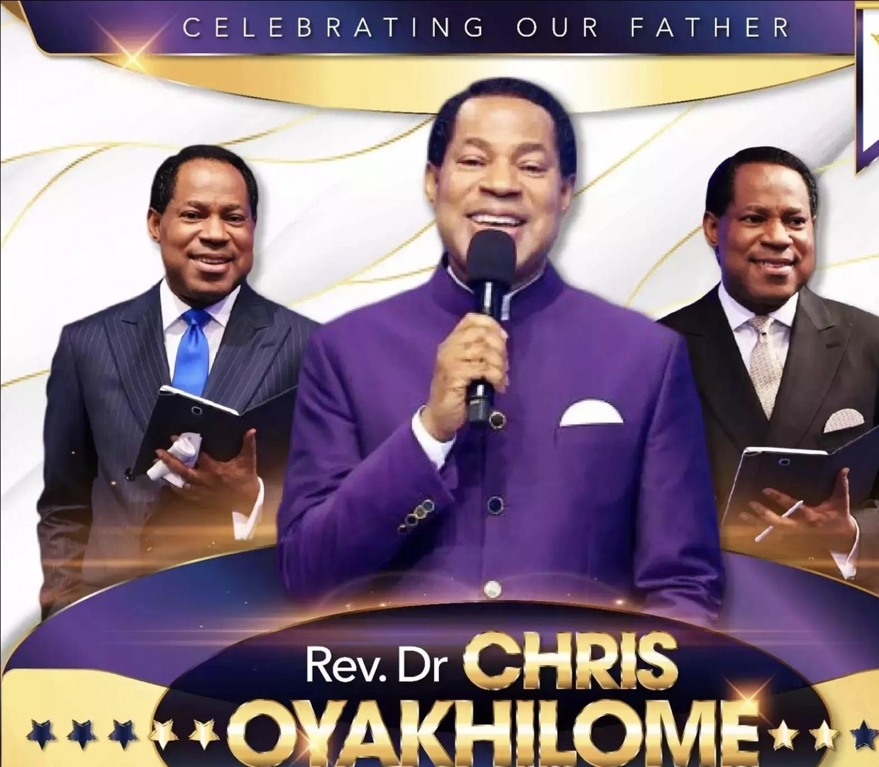 Happy Birthday dear Pastor Chris