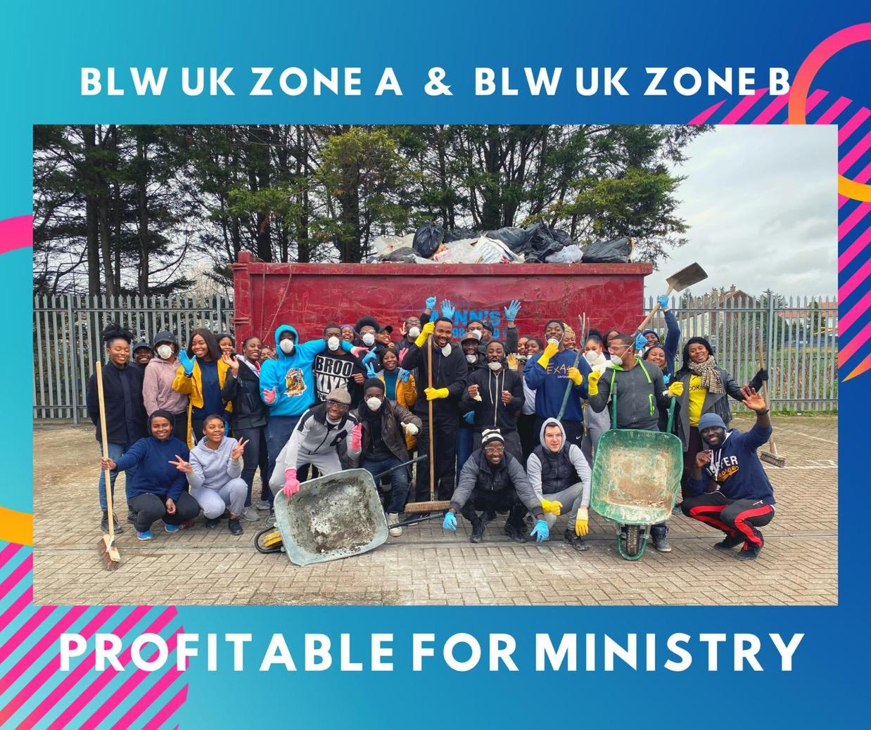 #ProfitableForMinistry #BLWukzoneA