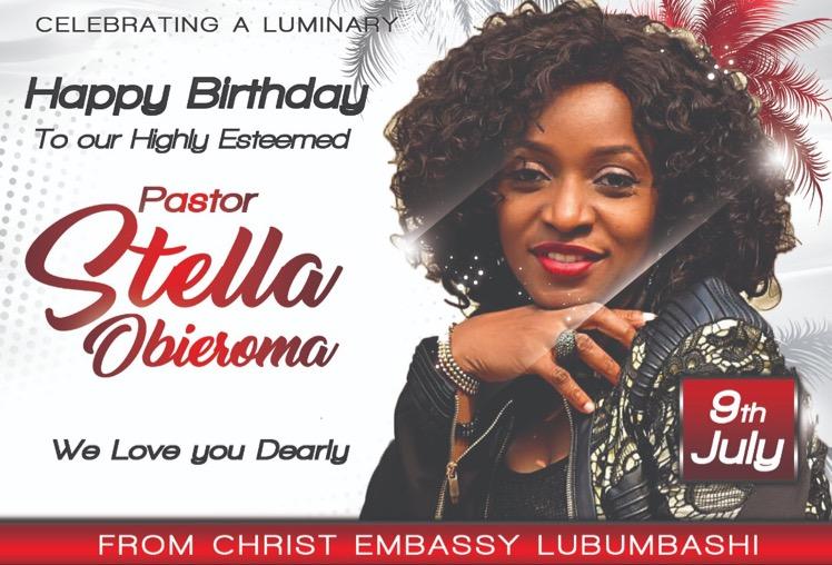 HappY Birthday Pastor Ma! #PastorStellaO