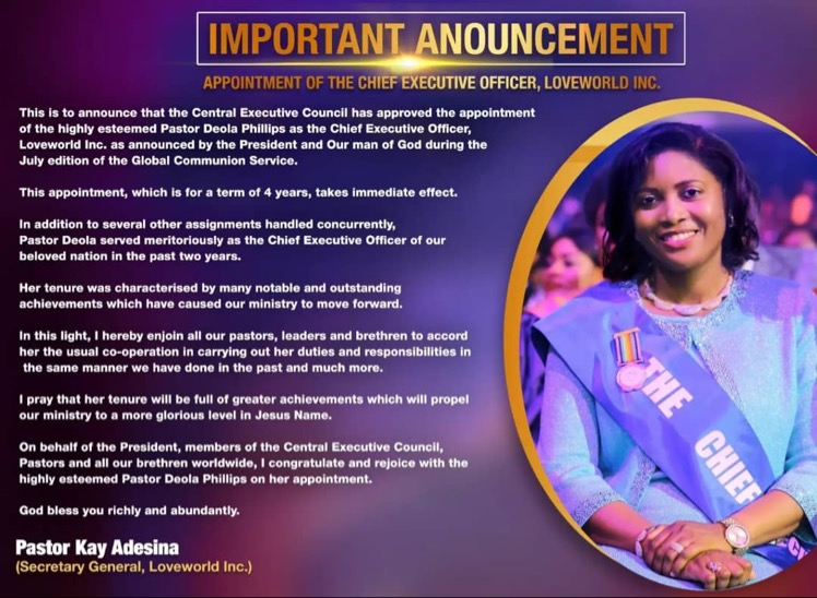 📌 IMPORTANT ANNOUNCEMENT 📌 Appointment
