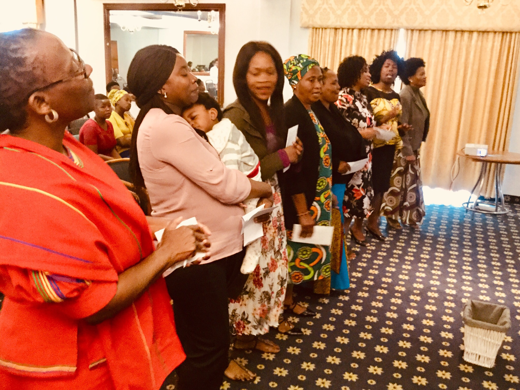 Thanksgiving service in CE Pinetown