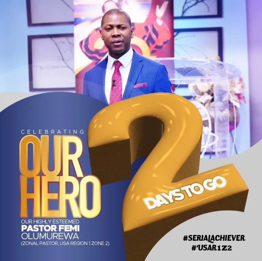 It's my zonal pastors birthday