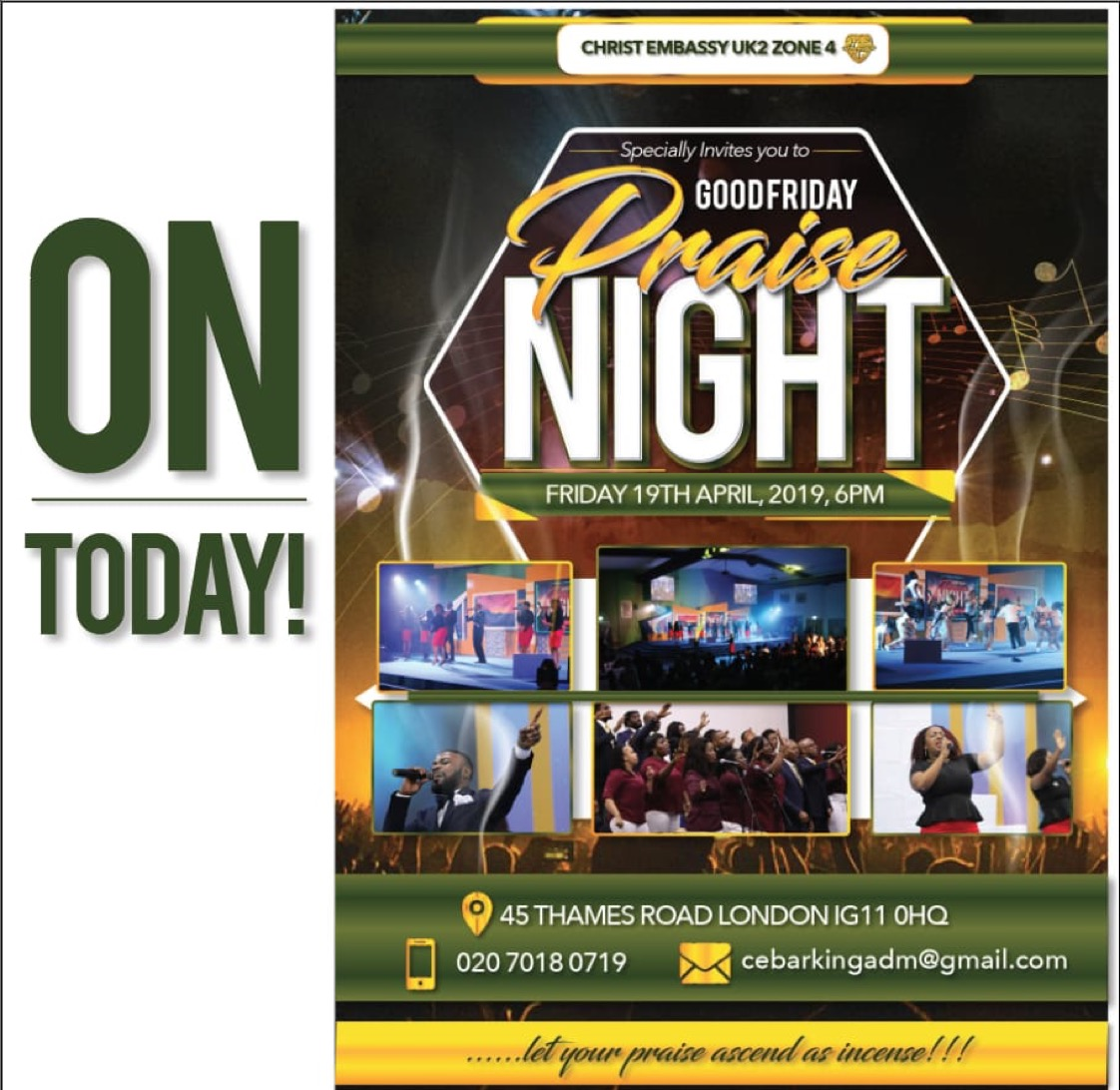 Come let's praise The Lord!