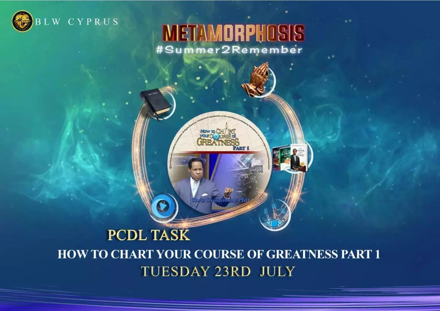 4. Accept the Mandate #metamorphosis2019