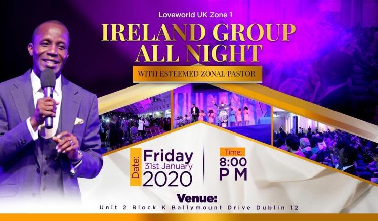 IRELAND GROUP ALL- NIGHT (