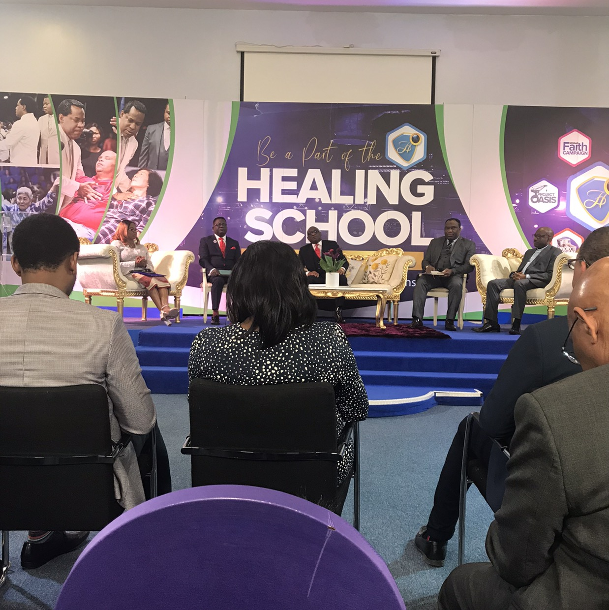 Live at the Healing School