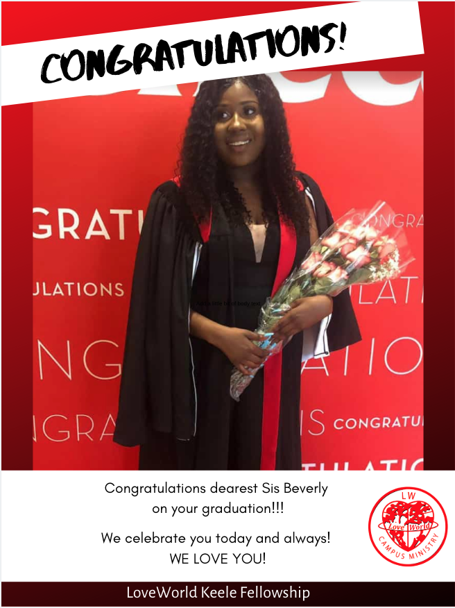 Wow! Congrats Sis Beverly, on