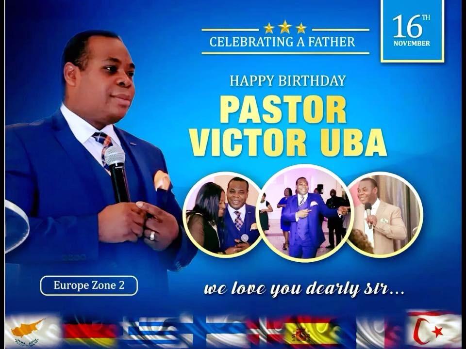 Happy supernatural Birthday Anniversary Pastor