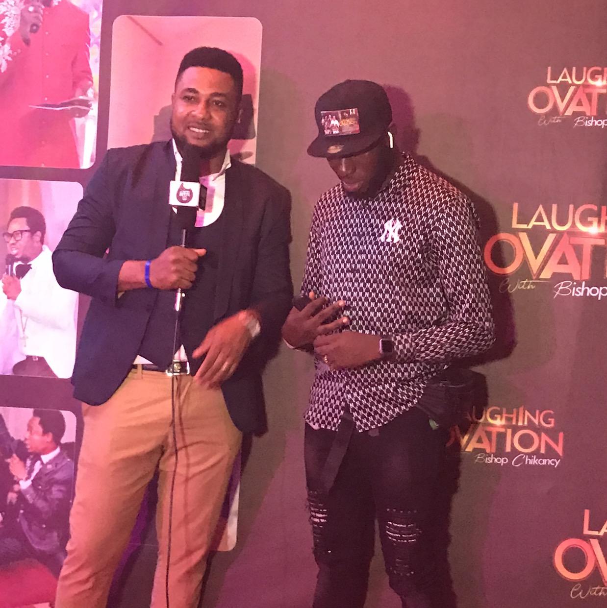 Laughing Ovation with @bishopchikancy Warri