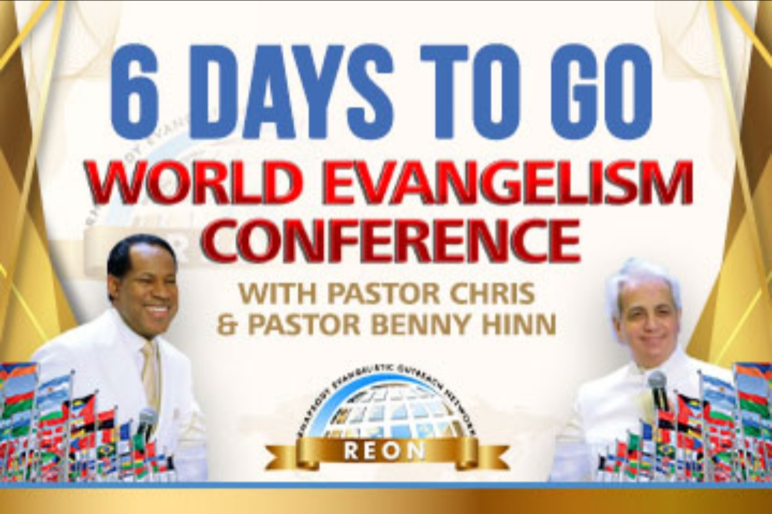#worldevangelismconference with #PastorChris and #