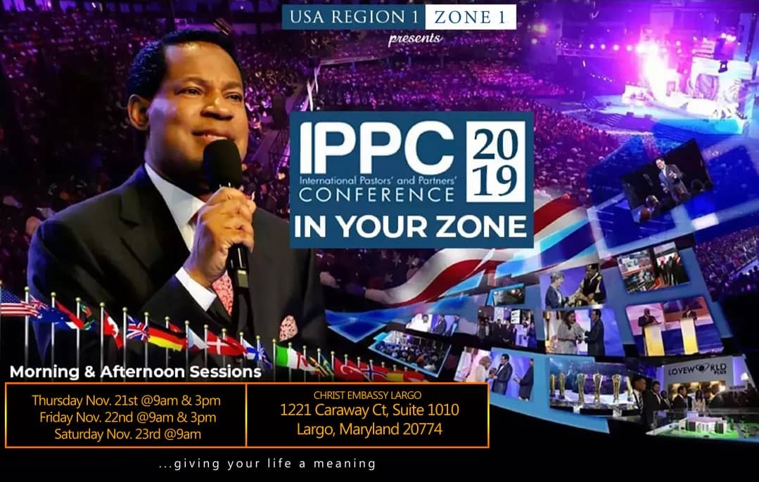🎉 IPPC IN YOUR ZONE!