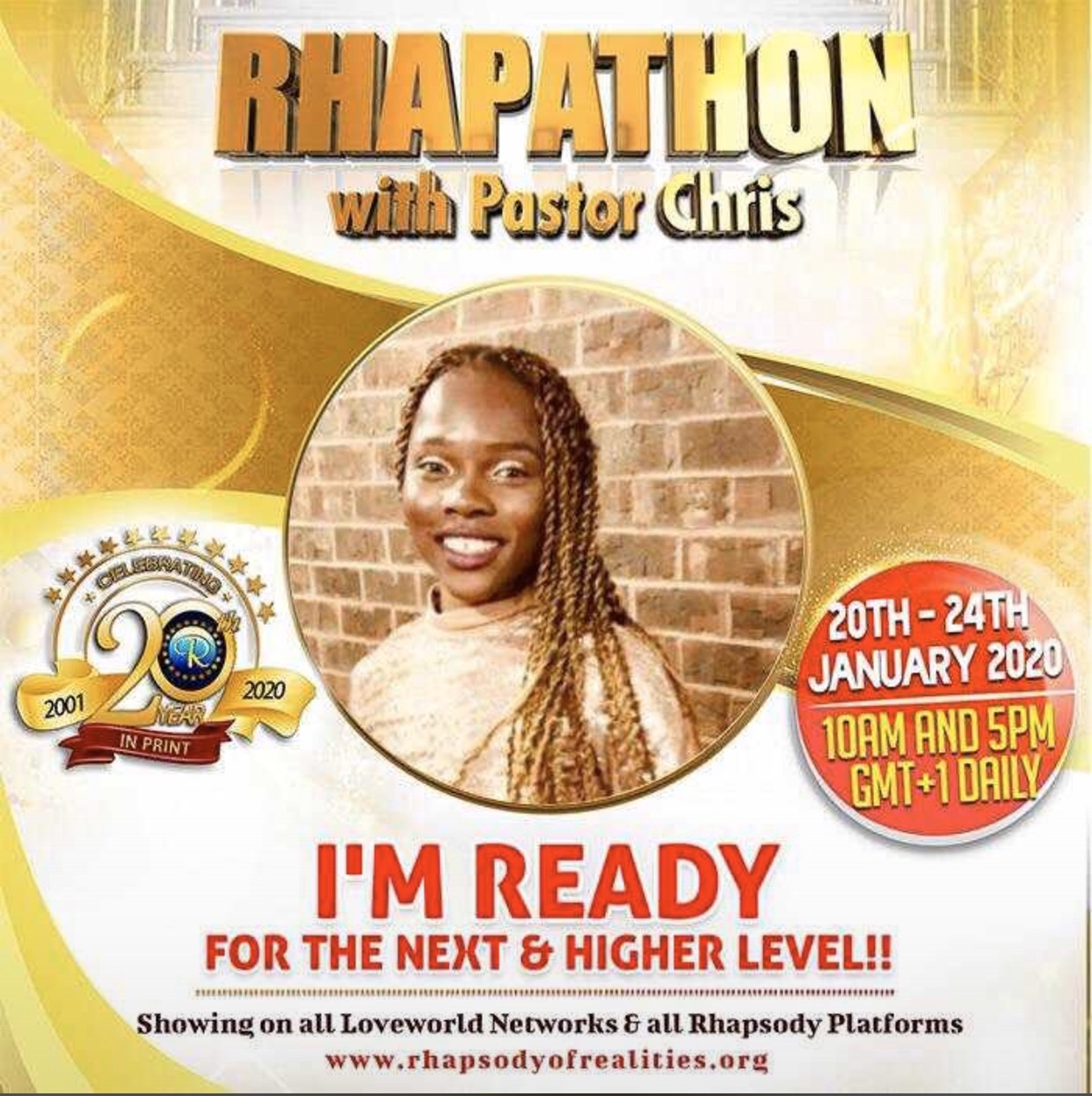 🎉🇺🇸WE'RE READY! THE GLOBAL RHAPATHON