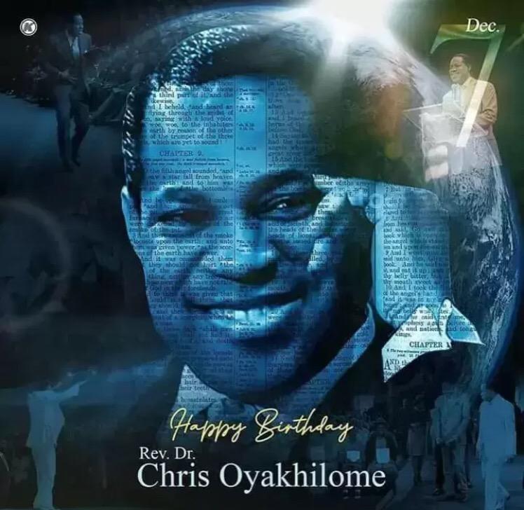 Happy Birthday Pastor Chris Thank