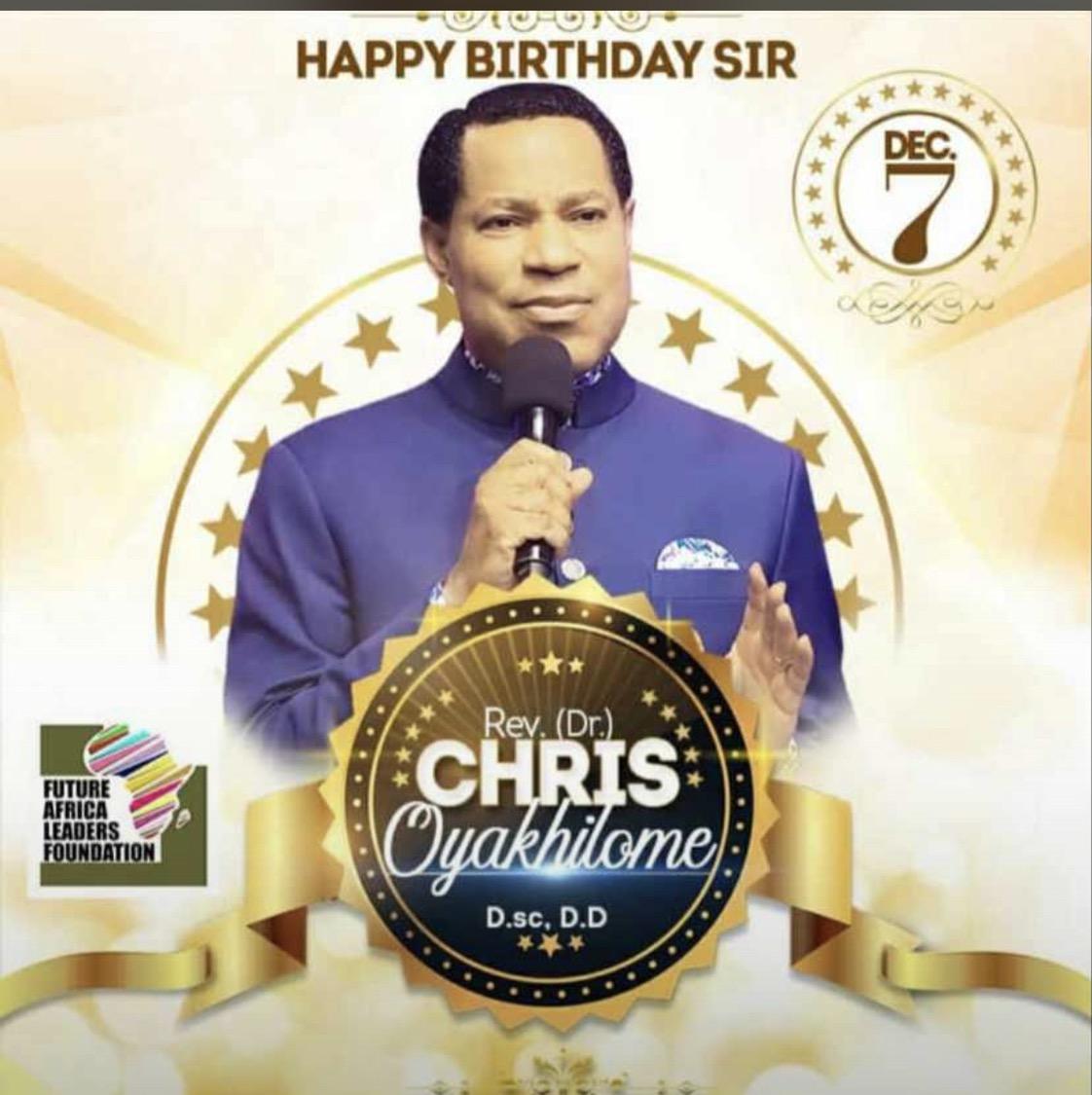 Happy birthday pastor ! I