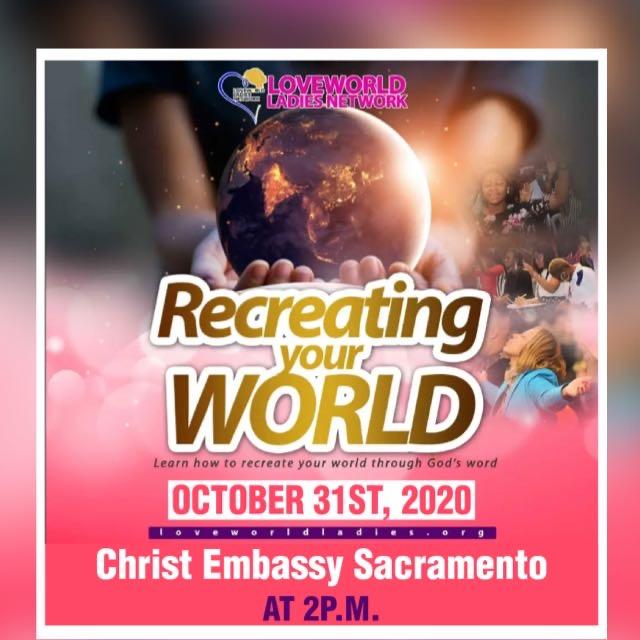 #loveworldladiesnetwork #recreatingyourworld #cesa