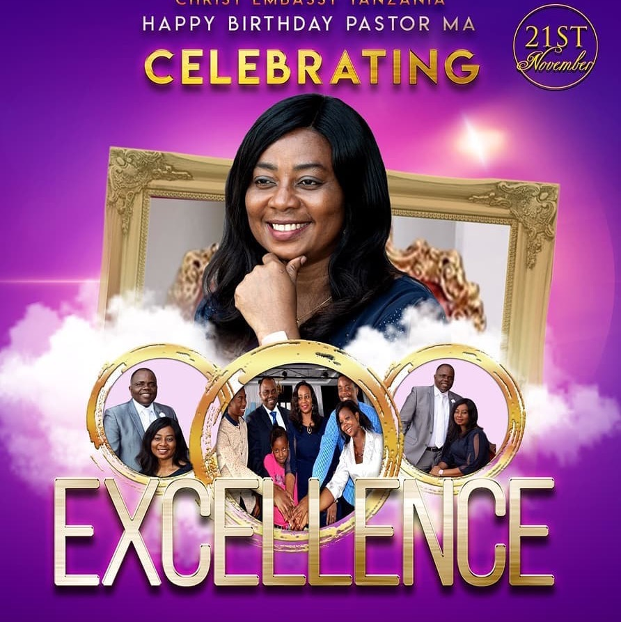 Happy Birthday Pastor Ma