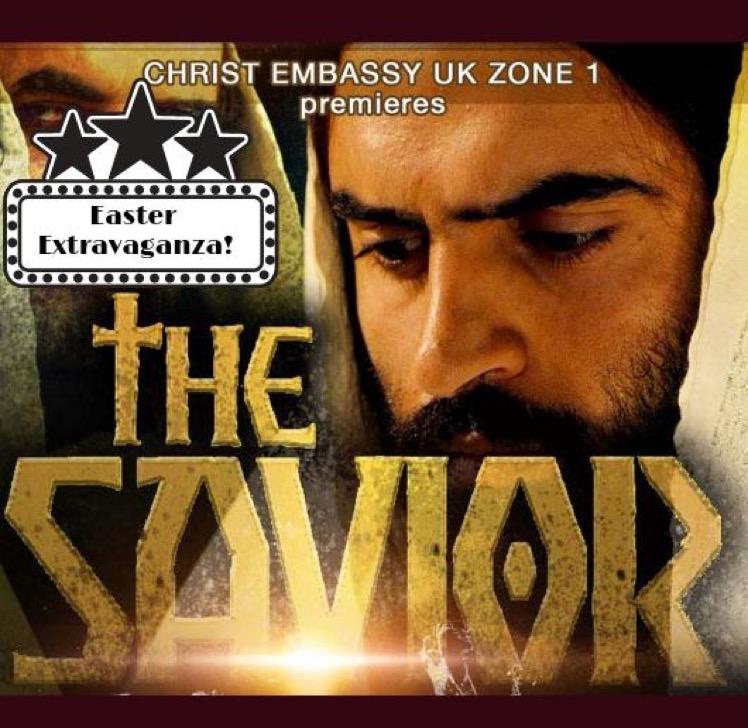 It's #TheSaviorMovie #premier at Easter