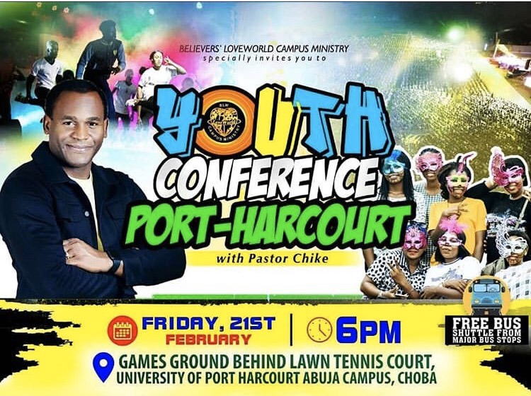 -16 Days❗️ 🔥🔥YOUTH CONFERENCE PORT-HARCOURT