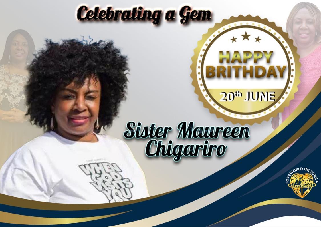 Happy Birthday Sis Maureen Chigariro,