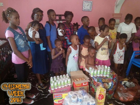 #childrensweek2018 #cesapele