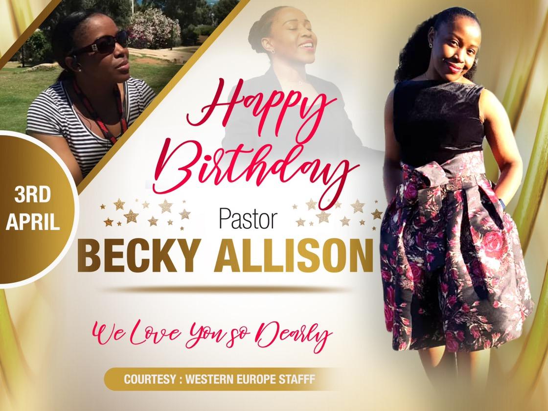 Happy Birthday dear Pastor Bee!!