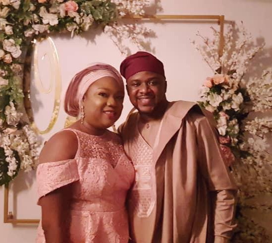 Happy wedding anniversary to an