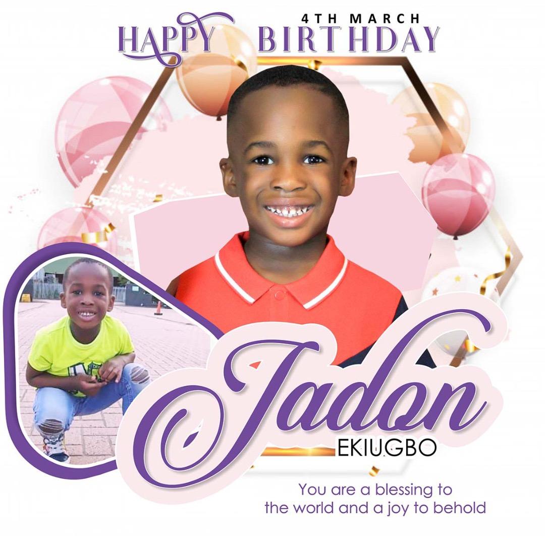 Happy 5th birthday to my