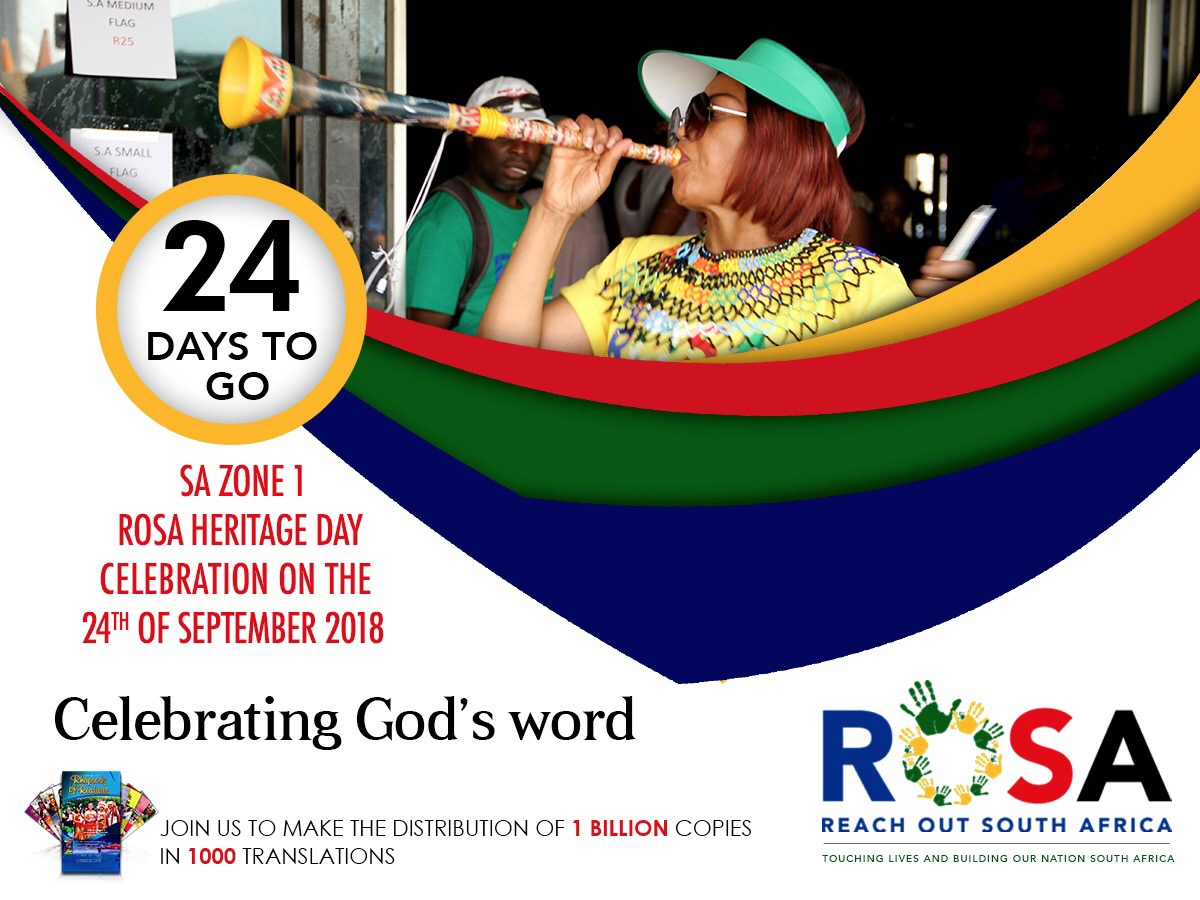 Exactly 24 days to #ROSA2018